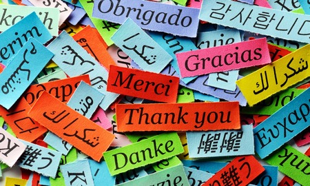Thank You in different languages smaller