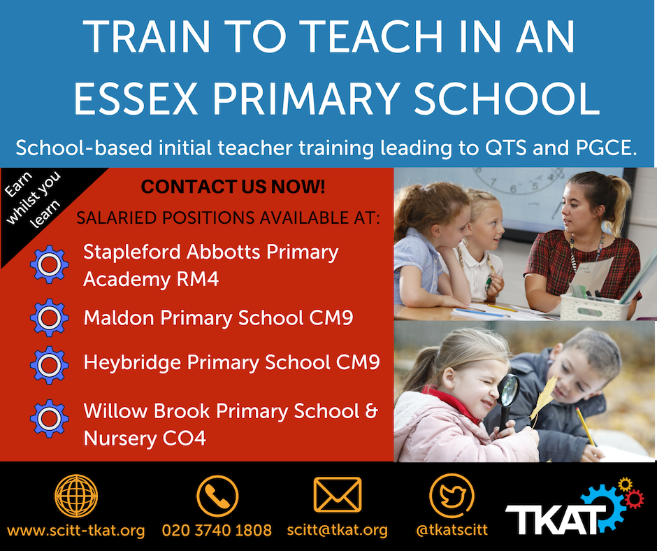 Train to teach advert