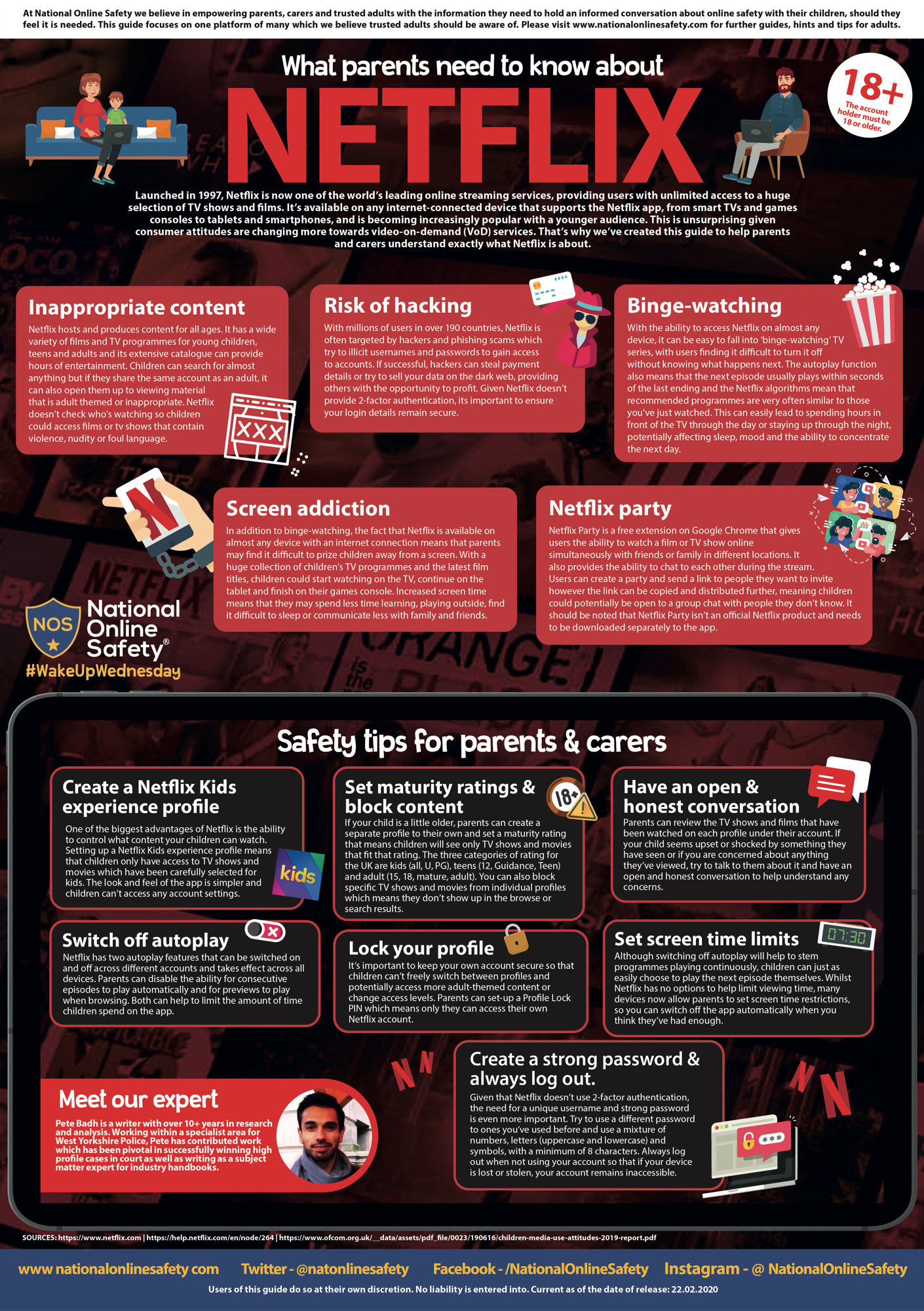 What parents need to know about Netflix