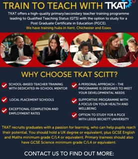 Train to teach with TKAT!