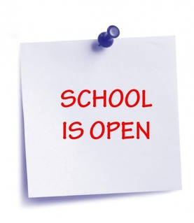 School open 13FEB19