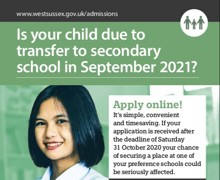 9SEP20 - Secondary transfer admissions poster 2021 v1