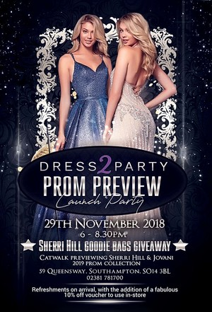 SOUTHAMPTON PROM PREVIEW POSTER 2018