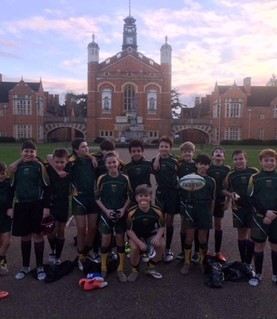 Year 7 rugby team