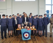 Ccf winners with mrs mckeown