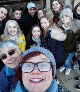 Yr13 trip to Stratford and Yorkshire