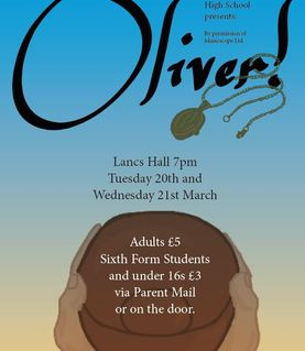 OLIVER - School Production - TICKETS