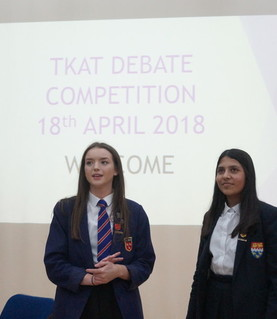 TKAT South Coast DEBATE COMPETITION