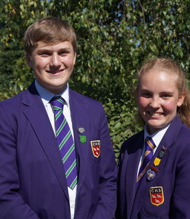 Head Boy and Head Girl 2018-19