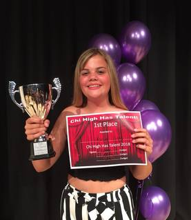 ChiHigh Has Talent 2018 - winner!