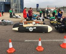 Rockingham Final 2018 going to grid