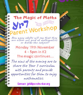 Magic of Maths on 19/11/18