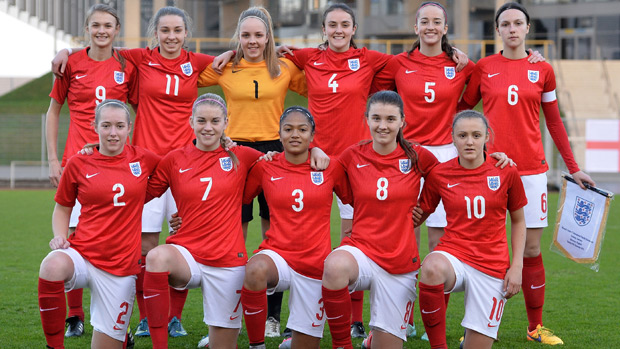 England women u17s germany