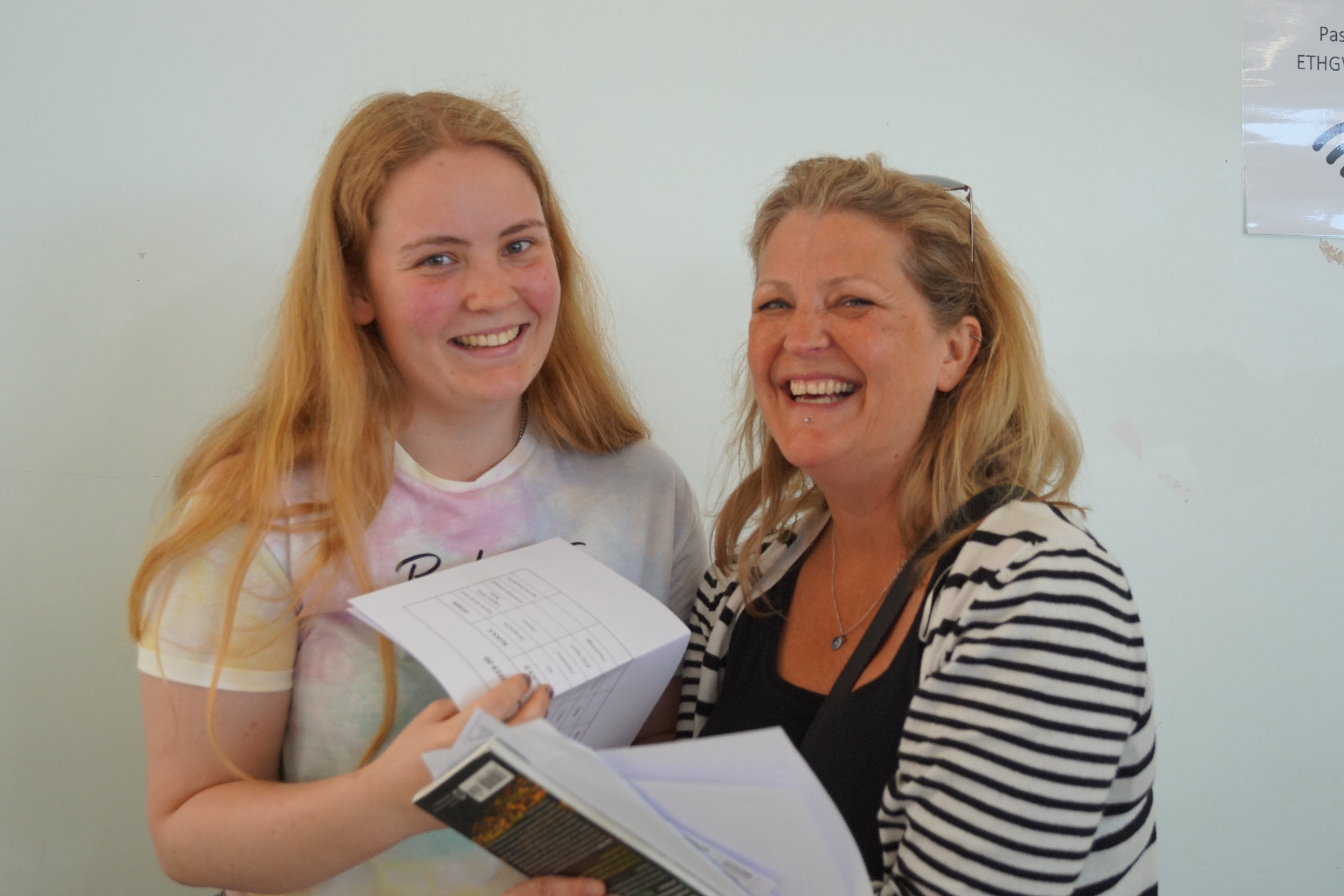 GCSE A level results 22.08 (25)