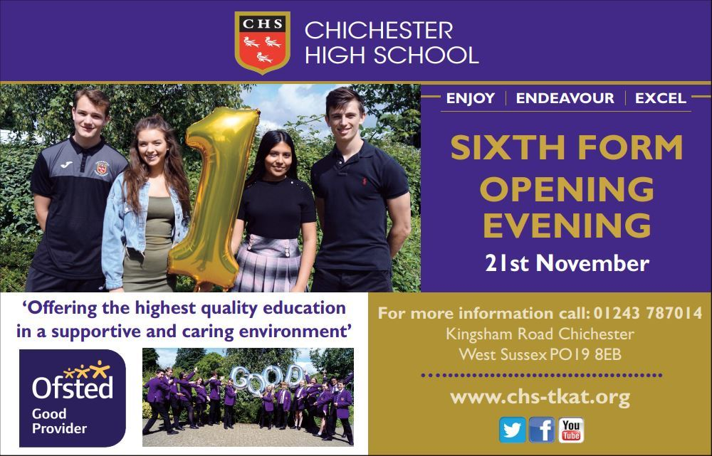 6th form open evening use