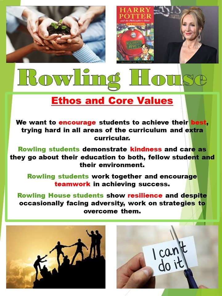 Rowling House flyer