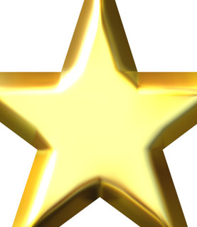 A big GOLD star