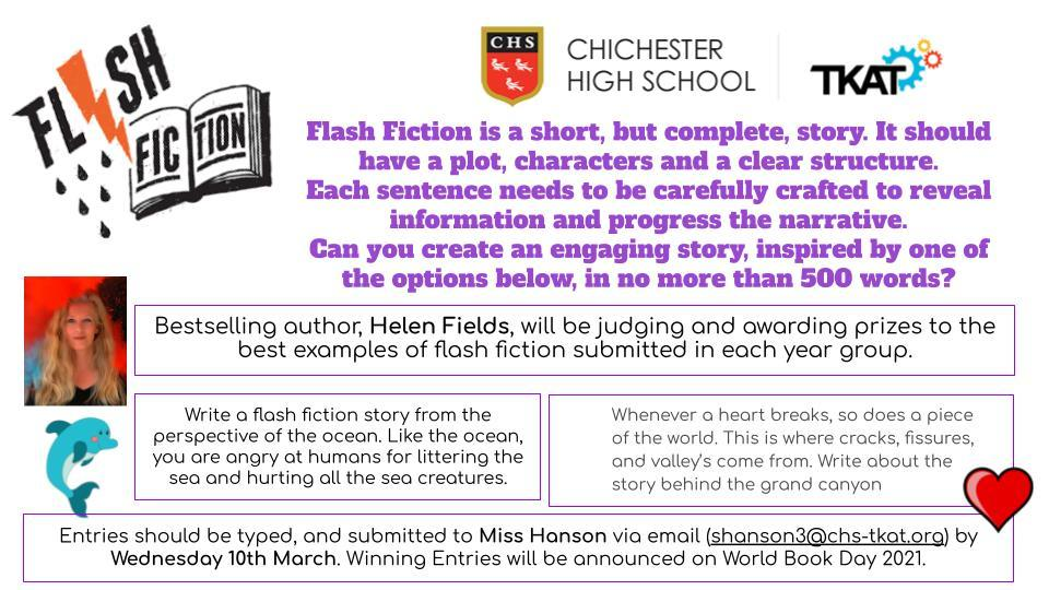 Flash Fiction   Helen Fields