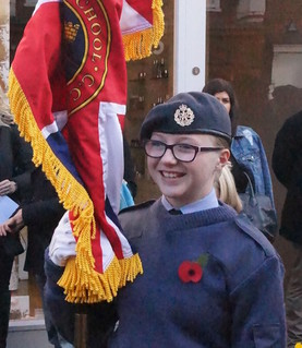 CHS at the Chichester City Remembrance Service