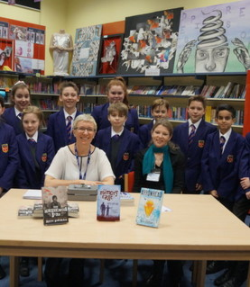 Author Ruth Eastham visits for our CHS Book Awards