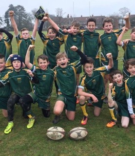 Yr7 rugby team v Christ's Hospital