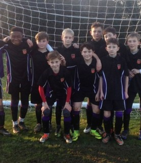 Yr7 football - County Cup