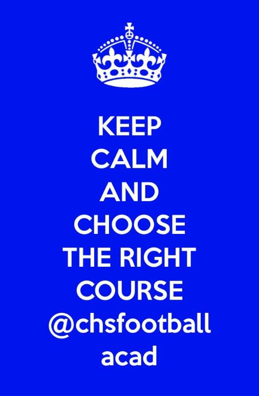 Keep calm and choose Football Acad