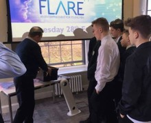280217 flare17 at chichester university 2