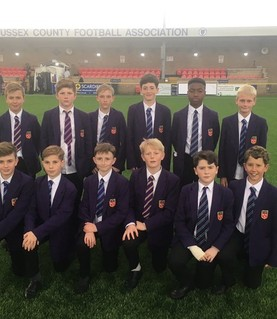 Yr7 Football - County Cup FINAL