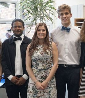 New 6th Form Head Boy and Girl