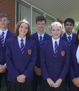 Our new Senior Prefects for 2017/18