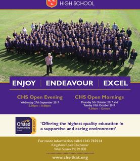 Open Evening and Open Mornings 2017
