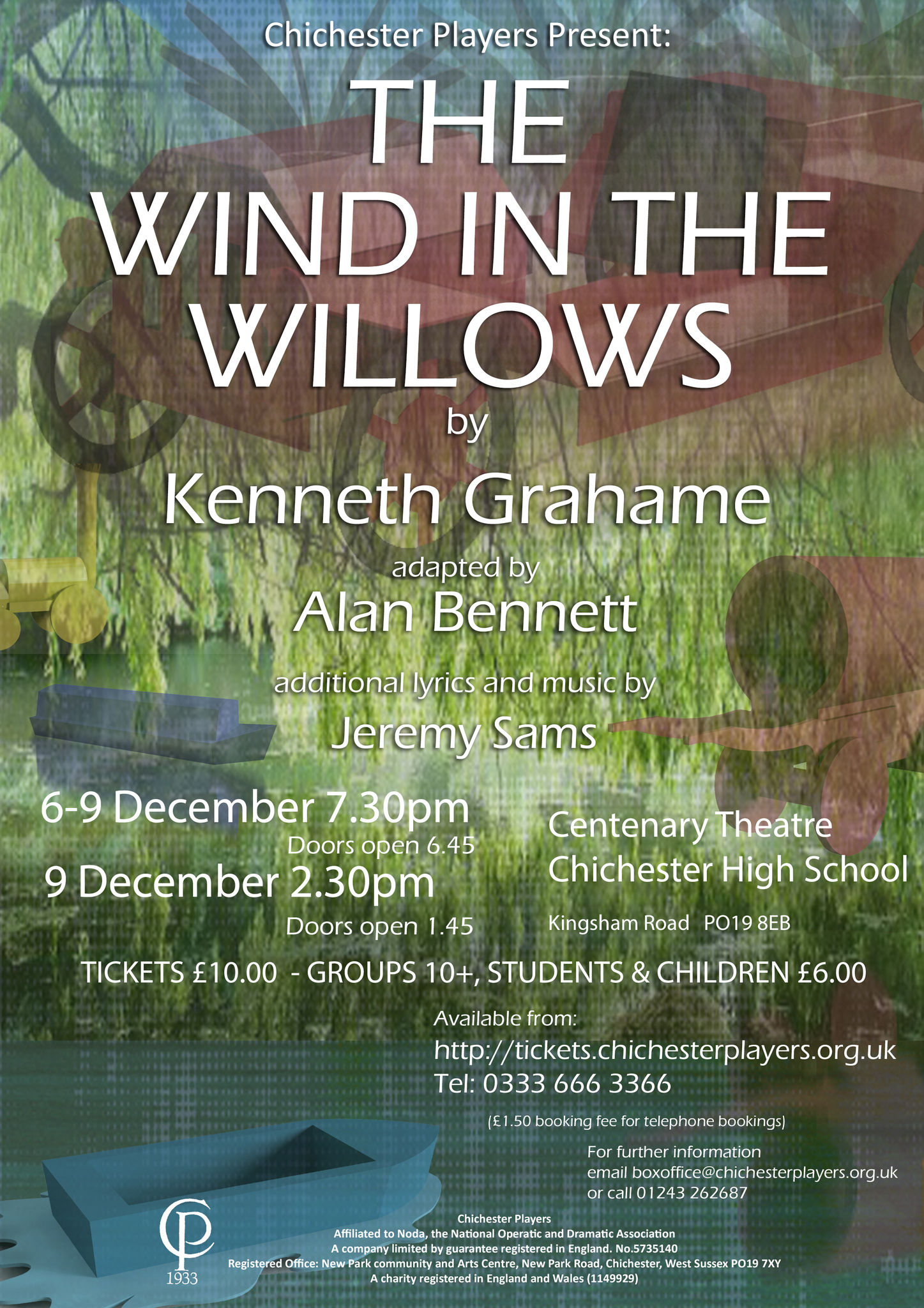Wind in the willows poster a4 2