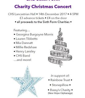 Sixth Form - Charity Christmas Concert