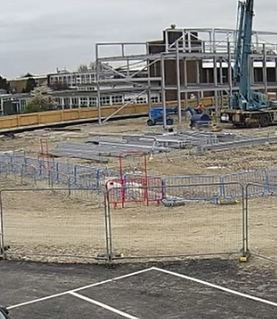 Watch our time-lapse video of progress so far at Cleeve Meadow School - April 2019