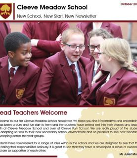 Read our Autumn Newsletter