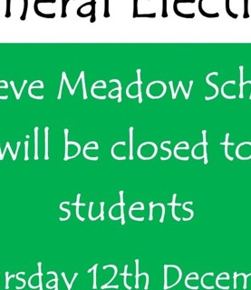 School Closed on Thursday 12th December
