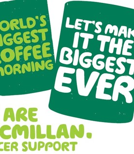 REMINDER: Macmillan Coffee Morning