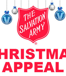 Christmas Appeal 2017 - Salvation Army