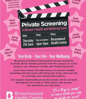 Broomwood Screening Event
