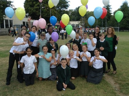 Ofsted Party - Balloon Release