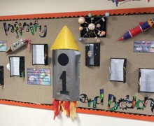 4a Year 1 space art work