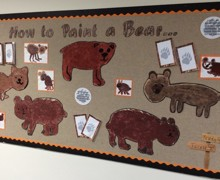 3a Reception how to paint bears