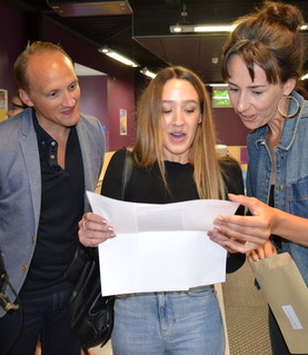 A level Results - Grace Hunt