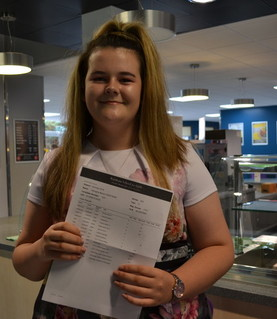 GCSE Results - Georgina Shepherd