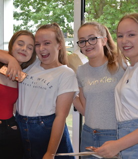 GCSE Results - Friends Celebrate their results