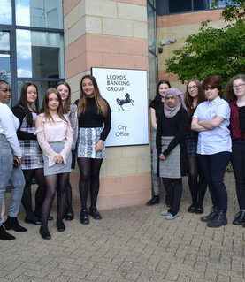 Year 10 Work Experience at Lloyds Bank