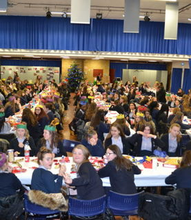 Year 9 Hogwarts style Christmas Lunch