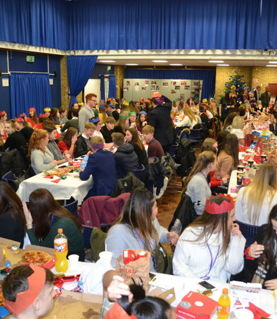 Year 11 Hogwarts style Christmas Lunch