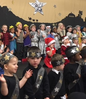 EYFS Perform 'Our First Christmas Play'